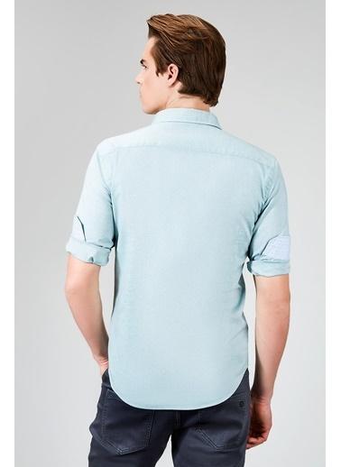 Avva Slim Fit Uzun Kollu Gömlek Yeşil